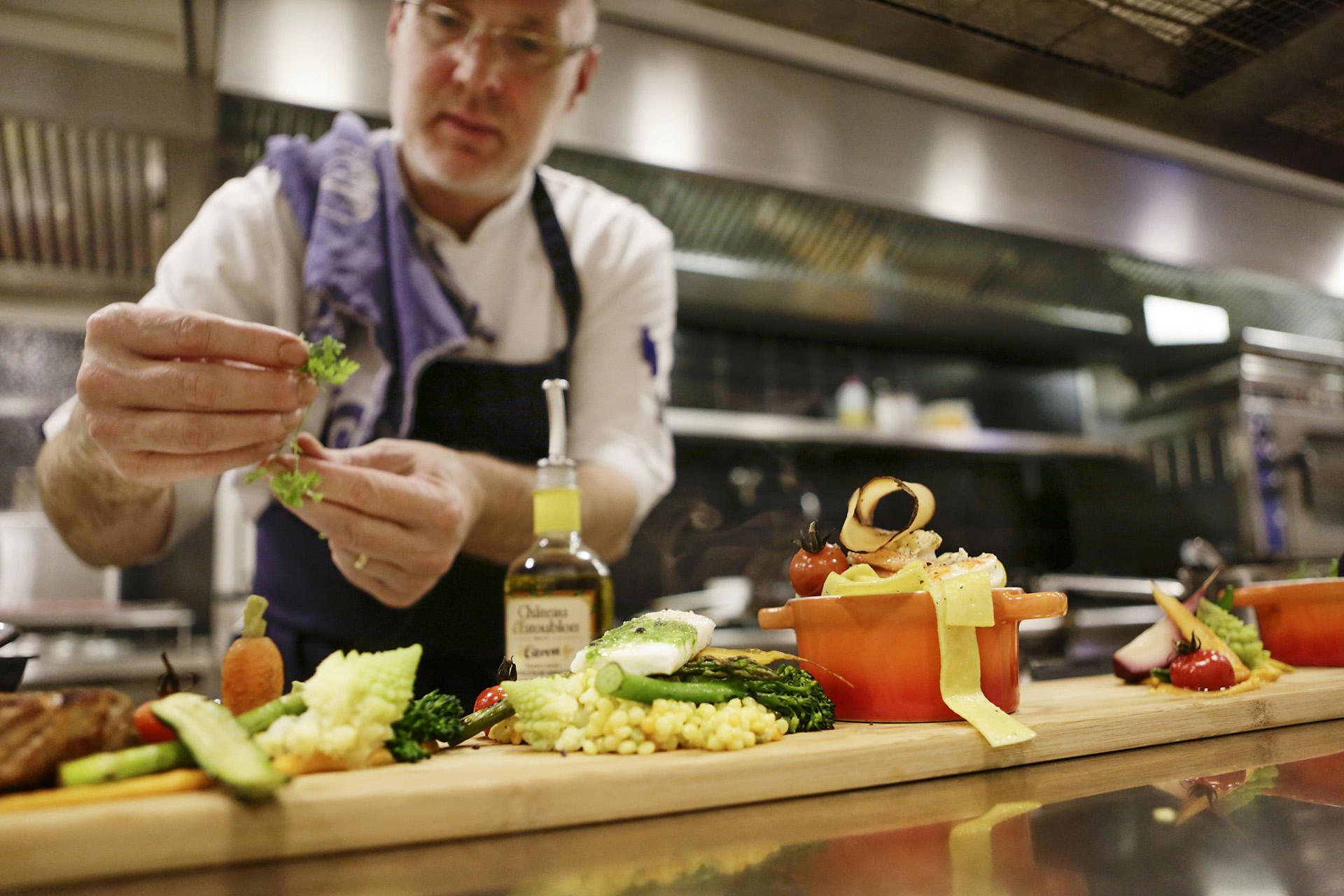 Keukenbrigade, Chefkok, Restaurant, opmaak, Keuken